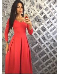 Платье Каппучина