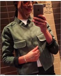 Куртка замшевая Зиппи